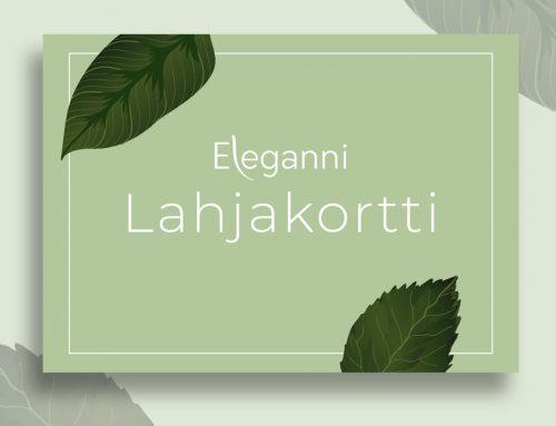 Saitko lahjaksi Elegannin lahjakortin?